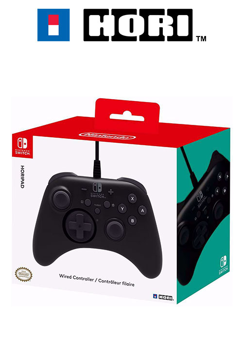 NS Horipad Wired Controller Black (HORI)