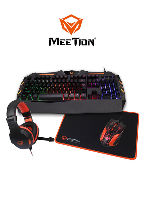 C500 4 In 1 PC Gaming Kits (Meetion)