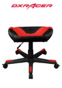 DXRACER FOOT REST BLACK/RED