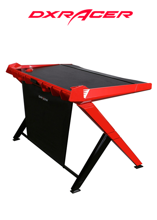 DXRACER GAMING DESK BLACK/RED