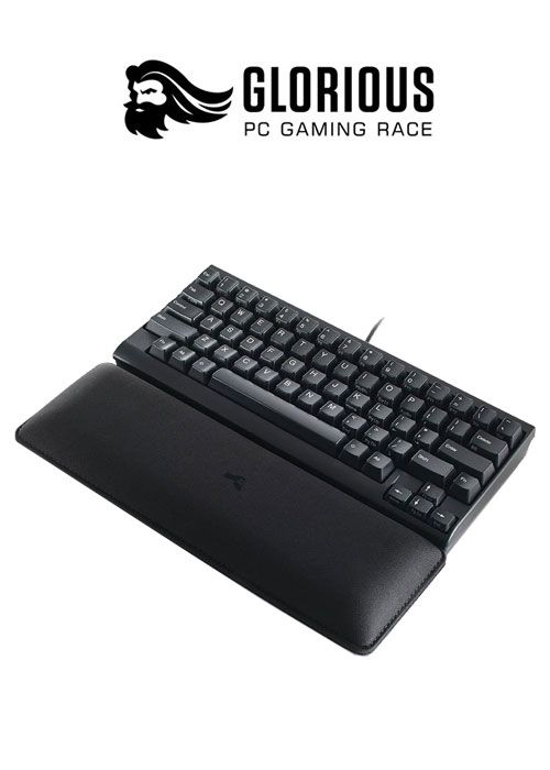 Keyboard Wrist Pad Slim Full Size - Stealth - Black (Glorious)