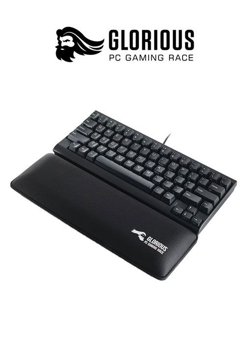 Keyboard Wrist Pad Slim TKL- Black (Glorious)