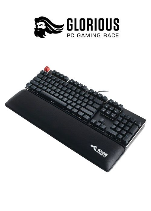 Keyboard Wrist Pad TKL- Black (Glorious)