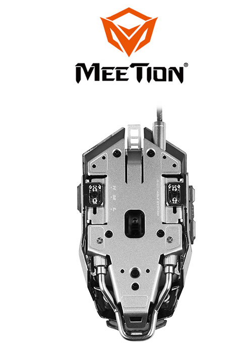 M985 Pro Gaming Mouse- Gray (Meetion)