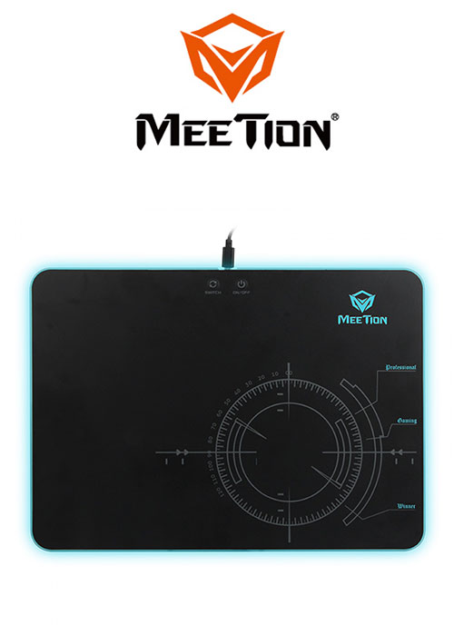 MT-P010 RGB Backlite Game Mouse Pad (Meetion)