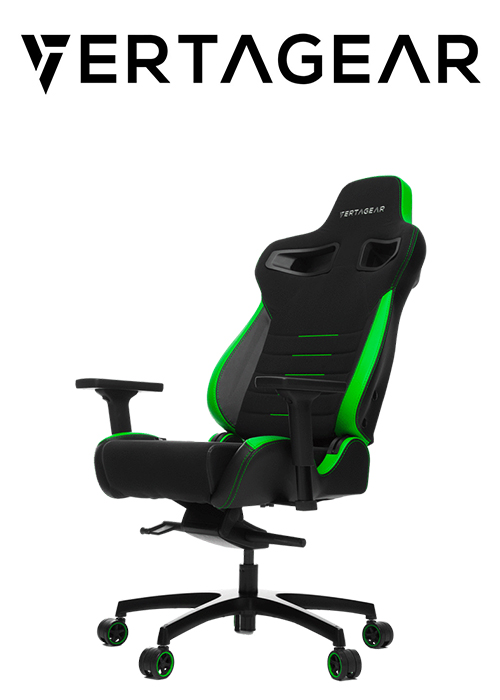 Gaming chair Vertagear Racing PL4500 Black, Green