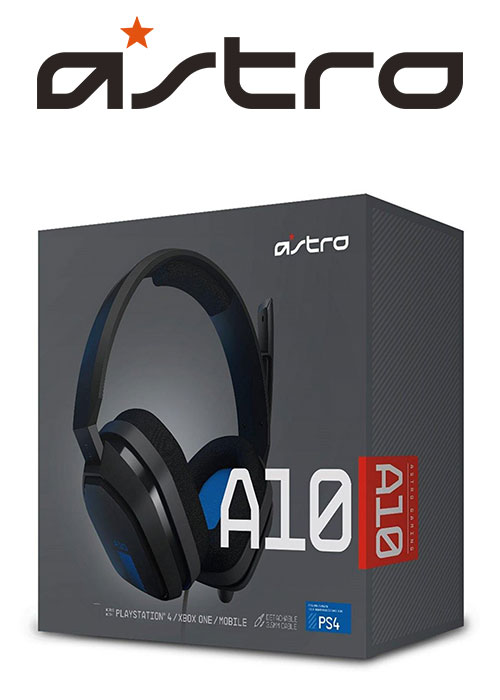 PS4 A10 Gaming Headset Black/Blue (Astro)