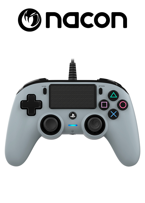 PS4 Wired Controller Grey (Nacon)