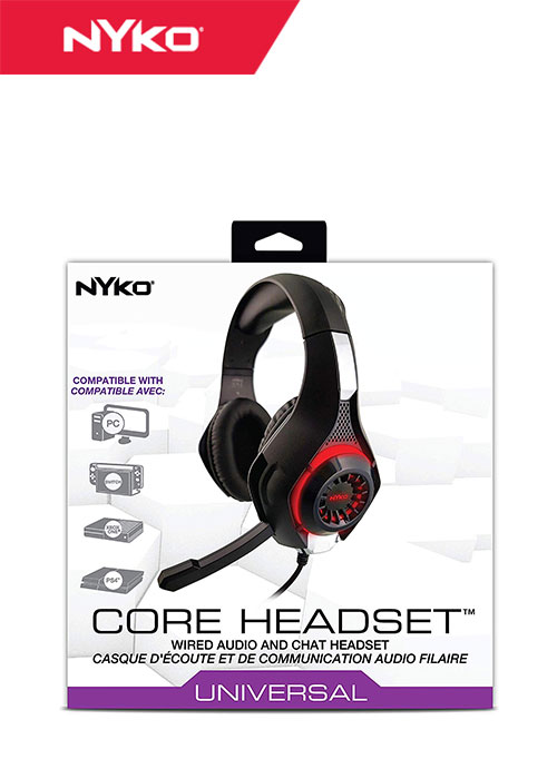 NS Core Headset Universal Audio and Chat Headset (Nyko)