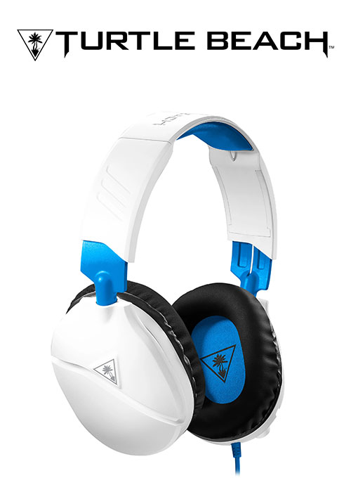 PS4 Ear Force Recon 70 Wired Headset - White (Turtle Beach)