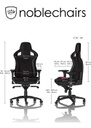 Noblechairs EPIC Series - Black/Pink