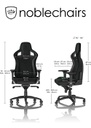Noblechairs EPIC Series - Black/Green