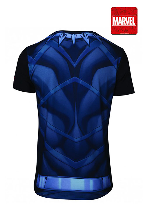 Marvel - Sublimated Black Panther Men's T-shirt - L