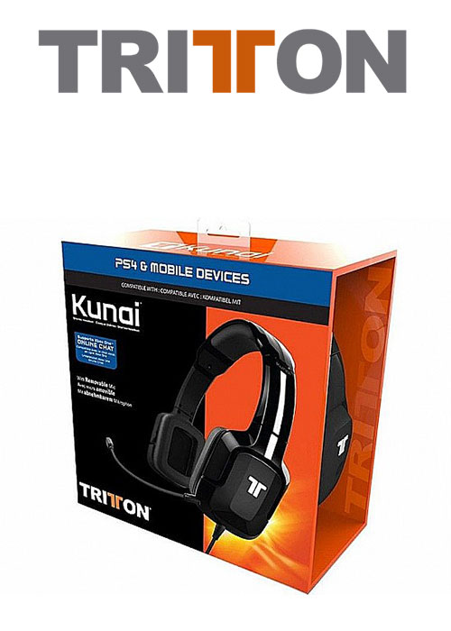 Kunai PS4 Headset Wired Stereo Tritton