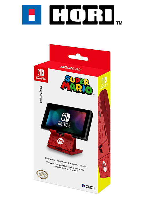 NS HORI Compact Stand - Mario Edition