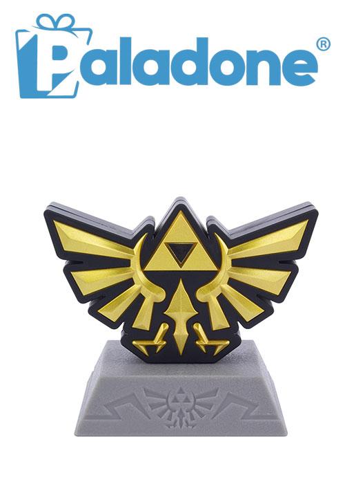La Leggenda di Zelda Scudo Hyrule Familia Reale Il Simbolo della Famiglia Reale /è Una rappresentazione Comune della Triforza sopra Un pollame. Paladone Mini Lampada Icon Gaming