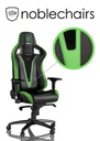 Noblechairs EPIC Gaming Chair - Sprout Edition - Black/Green