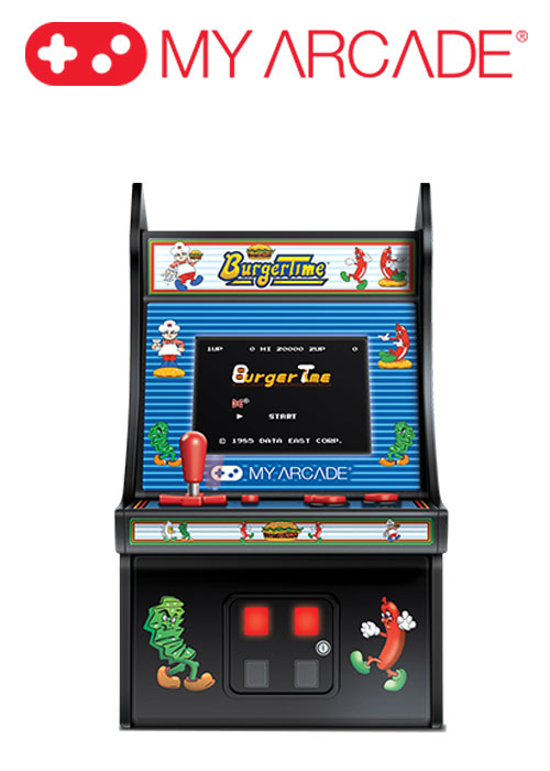 "6.75"" COLLECTIBLE RETRO BURGERTIME MICRO PLAYER"