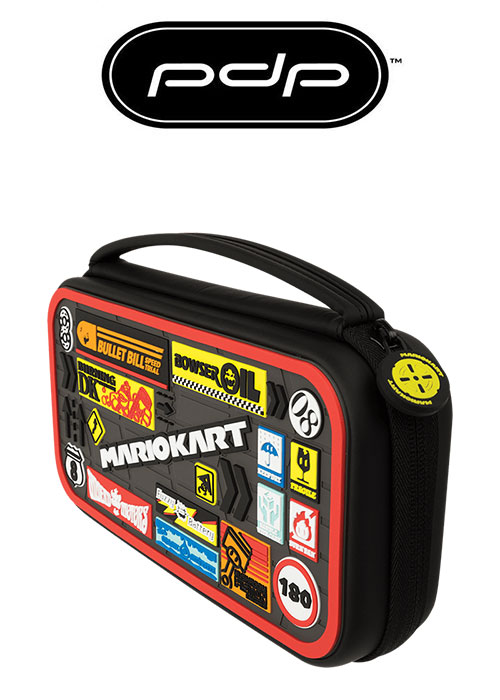 PDP NS DELUXE CONSOLA CASE MARIO KART EDITION