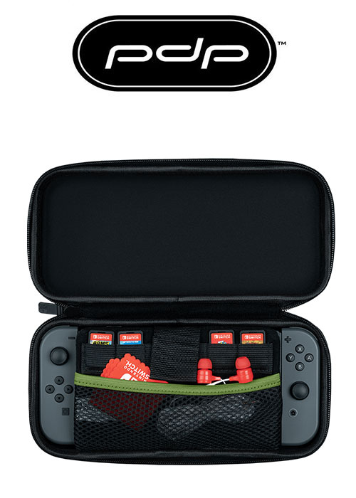 SLIM TRAVEL CASE LUIGI CAMO EDITION