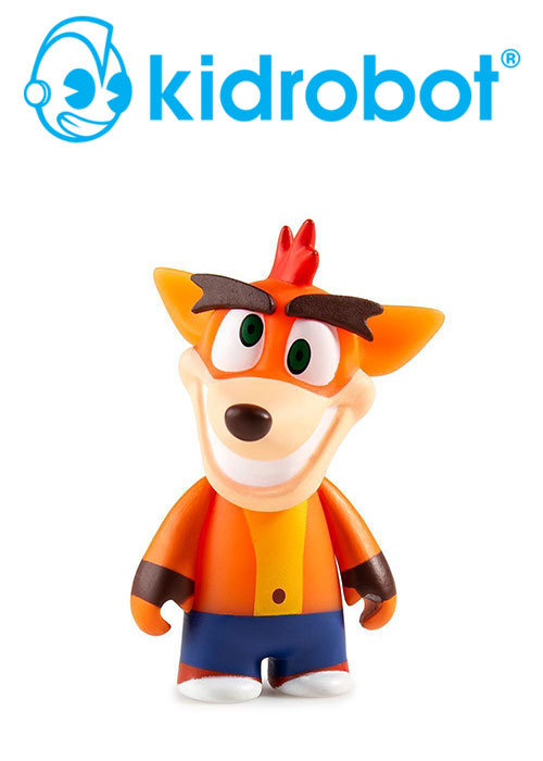 Crash Bandicoot Series Mini-Figures Display Tray (Kidrobot)