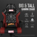 CRC - Licensed Marvel Standard Gaming Chair Series - Spider-Man
