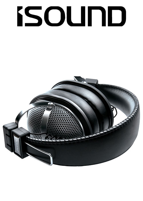 ISOUND HM-270 HEADPHONE - BLACK/SILVER