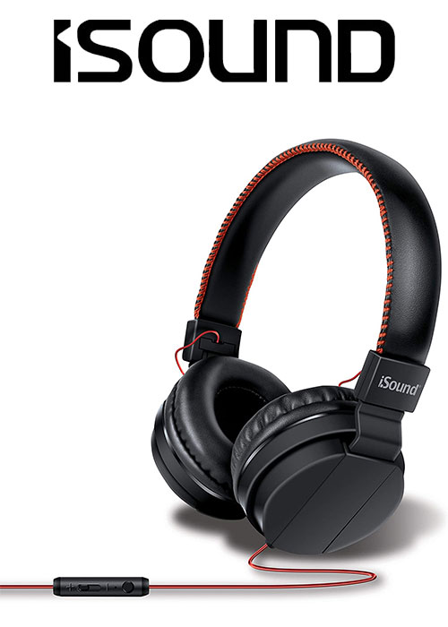 ISOUND AUDIO PRO - BLACK/RED