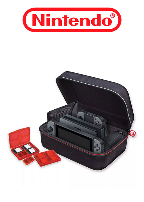 NS Game Traveler Deluxe System Case