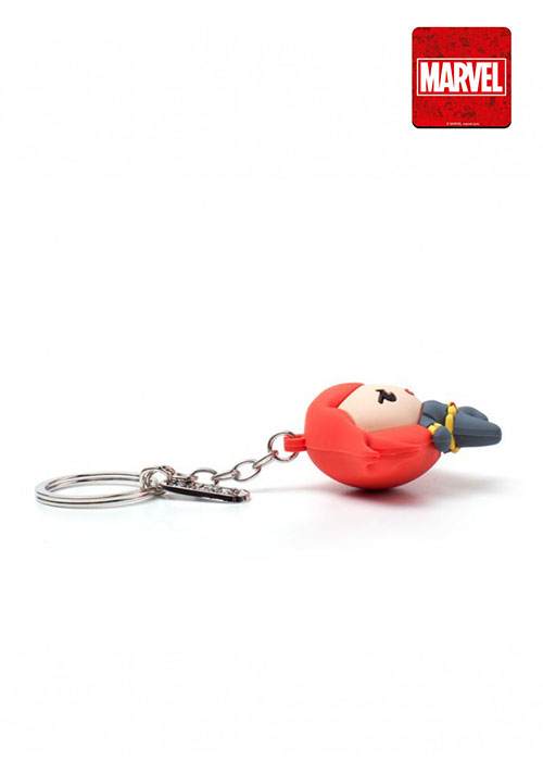 Marvel - Black Widow kawaii 3D Rubber Keychain