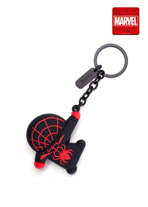 Marvel - Miles Morales Kawaii Rubber 3D Keychain