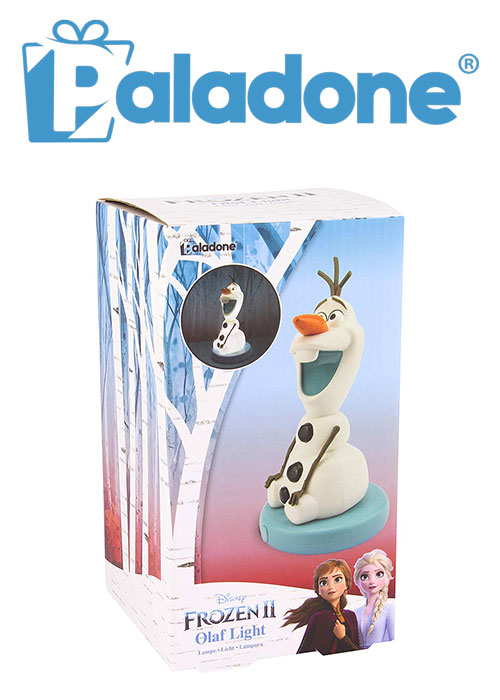 Olaf BDP Light Decorative White Collectable Frozen 2 Lamp (Paldone)