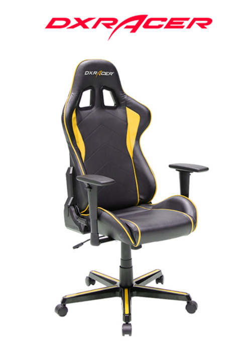 DXRACER CHAIR FORMULA BLACK/YELLOW