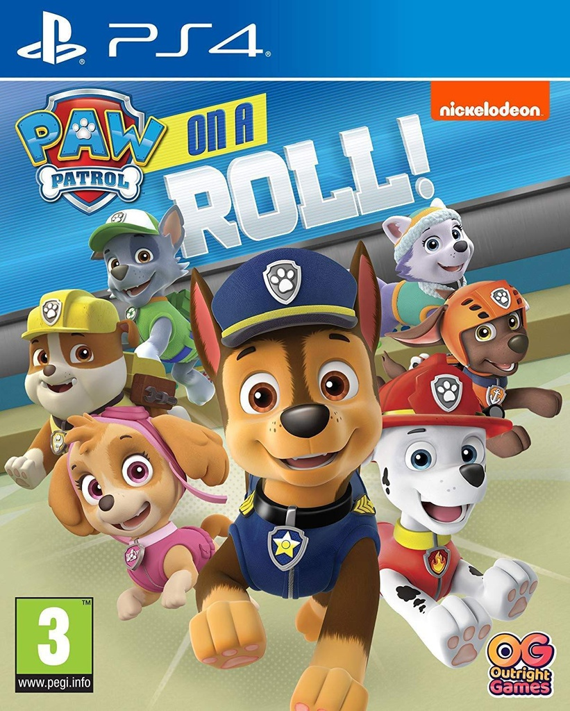 PS4 Paw Patrol: On a roll! R2