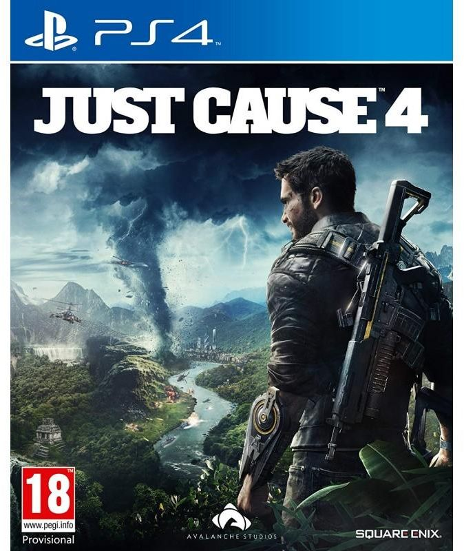 PS4 Just Cause4 R2