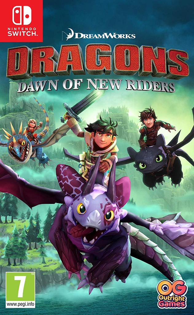 NS Dragons Dawn Of New Riders PAL