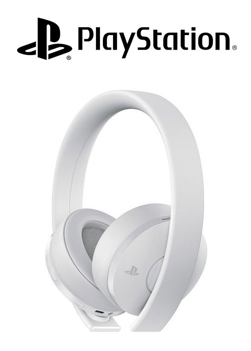 SONY PS4 Headset Gold Wireless Stereo 2.0 White V2