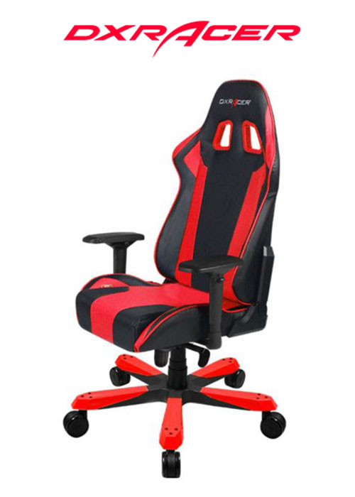 DXRACER CHAIR KING BLACK/RED