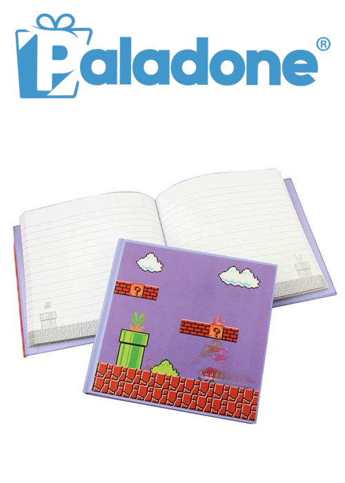 Paladone Super Mario Bros. 3D Motion Notebook