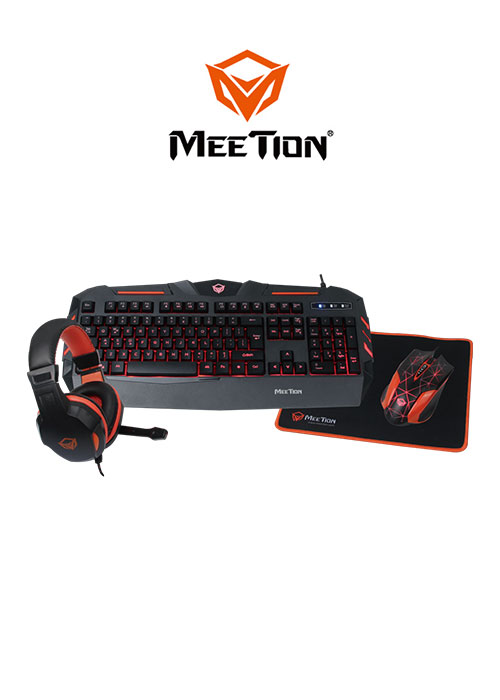 Meetion C500 4 In 1 PC Gaming Kits