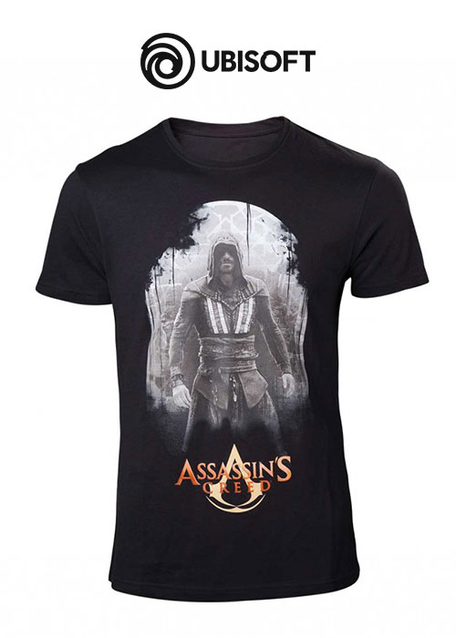 Assassin's Creed Movie - Aguilar on Black T-shirt - 2XL