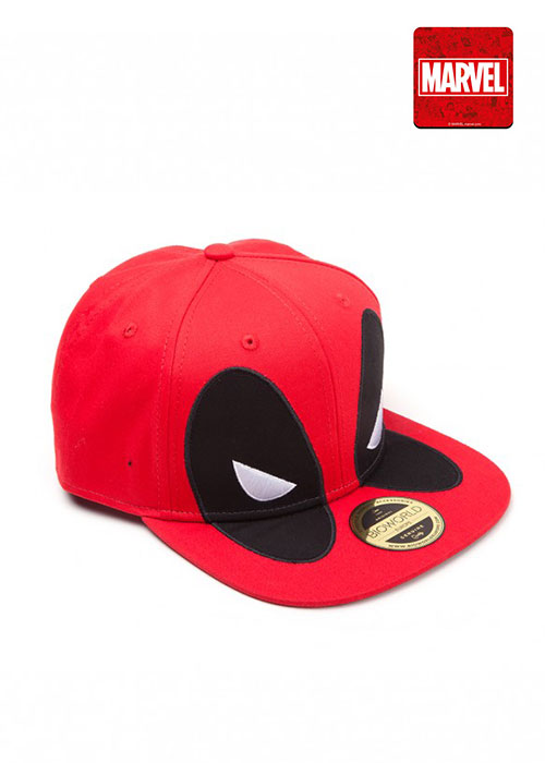 Deadpool - Big Face Snapback - Red Cap
