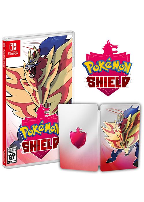 NS Pokemon Shield Steel Book Edition NTSC