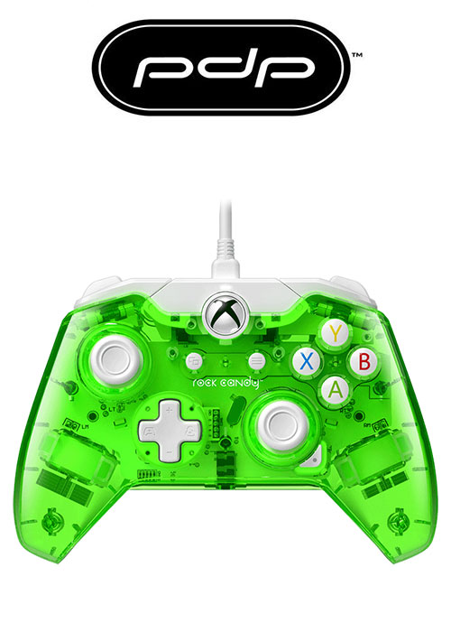 PDP XB1 Wired Controller Rock Candy Green