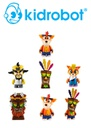 Kidrobot Crash Bandicoot Series Mini-Figures Display Tray