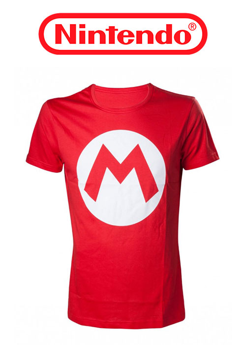 Nintendo - Mario T-shirt with big M - XL