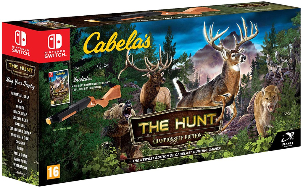 NS Cabela's The Hunt - Championship Edition PAL
