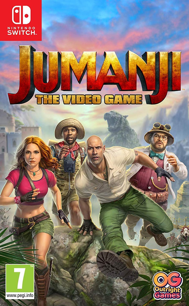 NS Jumanji: The Video Game PAL