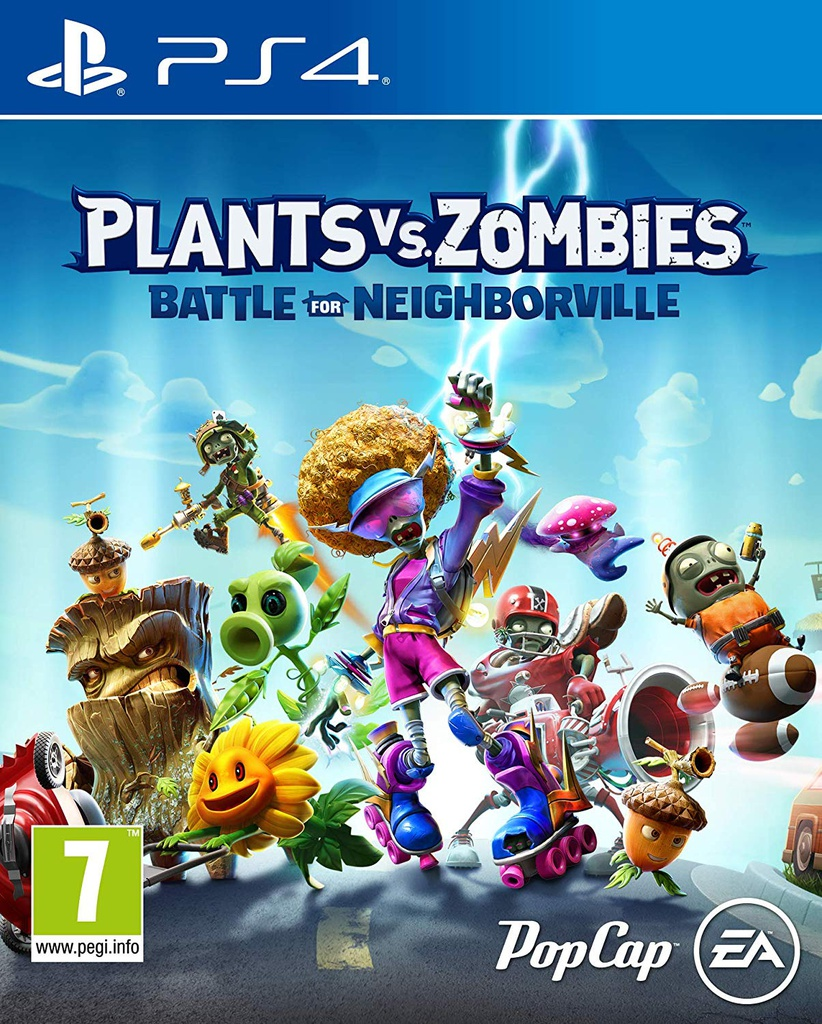 PS4 Plants Vs Zombies: Battle For Neighborville R2