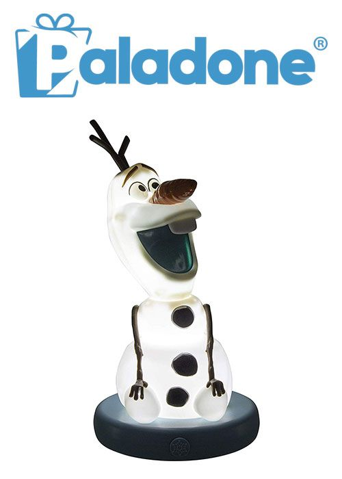 Paladone Olaf BDP Light Decorative White Collectable Frozen 2 Lamp